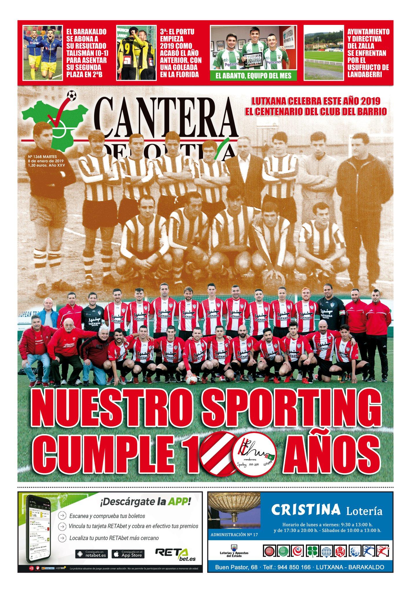 Portada de Cantera Deportiva