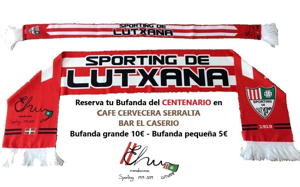 Venta de bufandas del Centenario