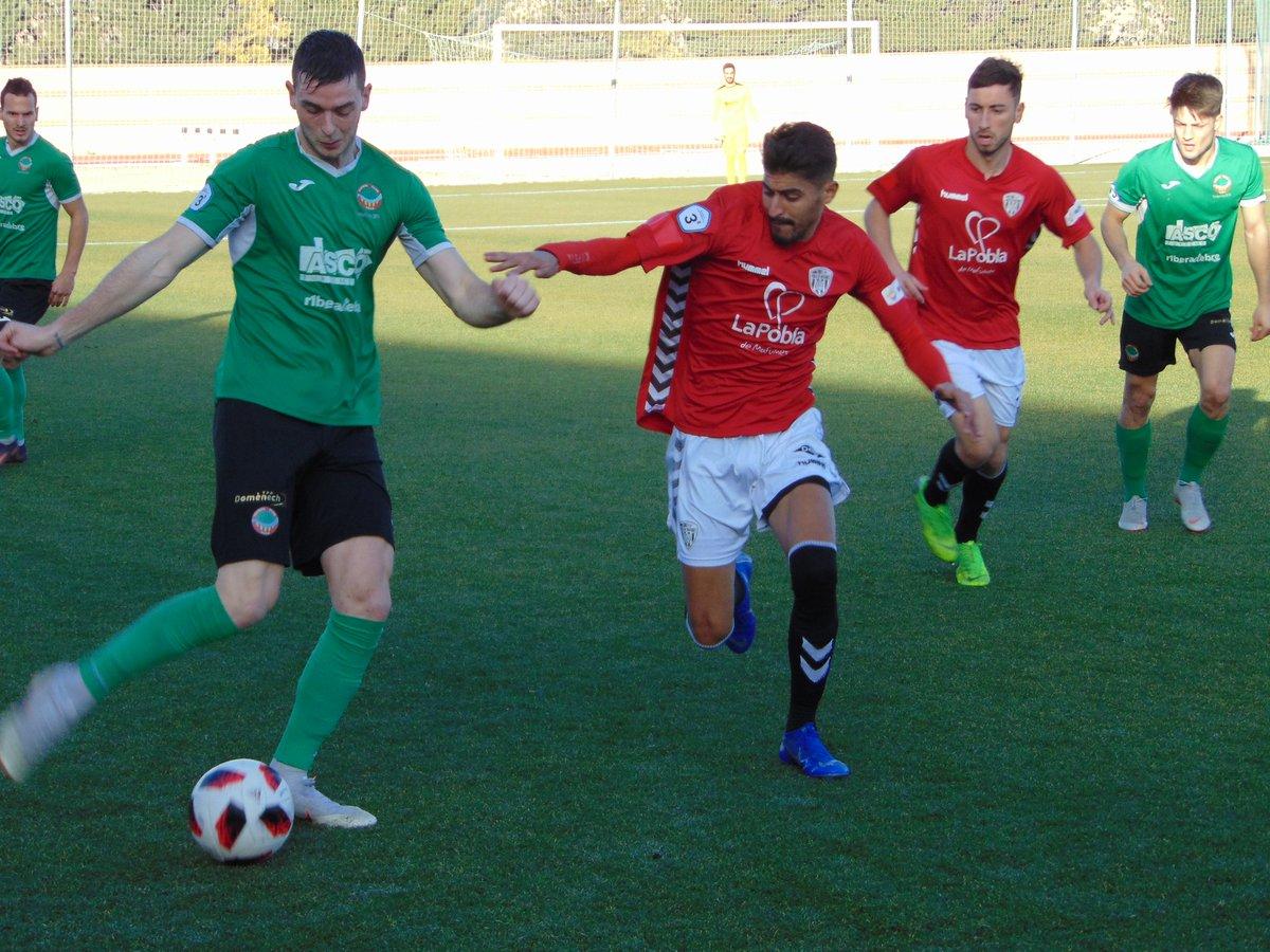 Empat a 1 entre el FC Ascó i el CF Pobla de Mafumet