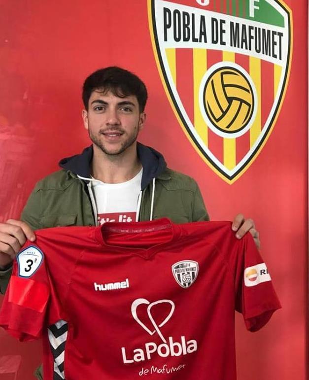 Guillermo Luis Martí, nova incorporació del CF Pobla de Mafumet