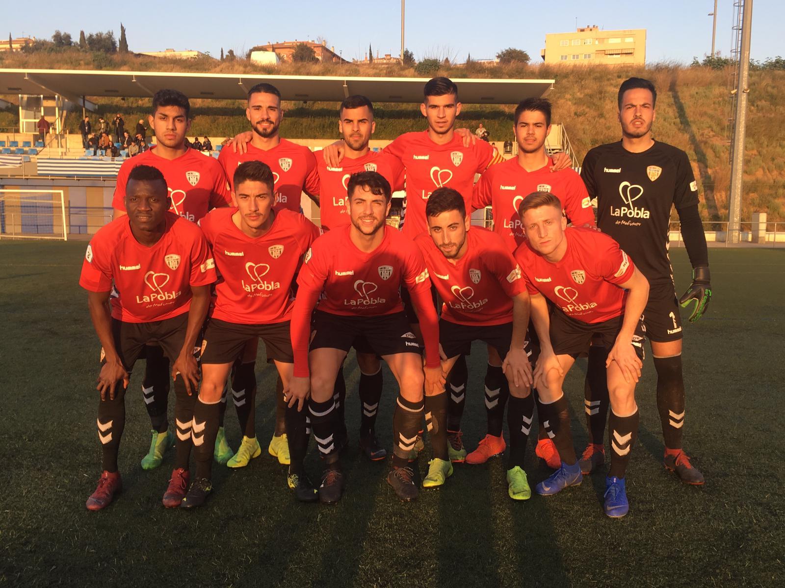 Victòria del CF Pobla de Mafumet davant el Santfeliuenc per 2 a 3