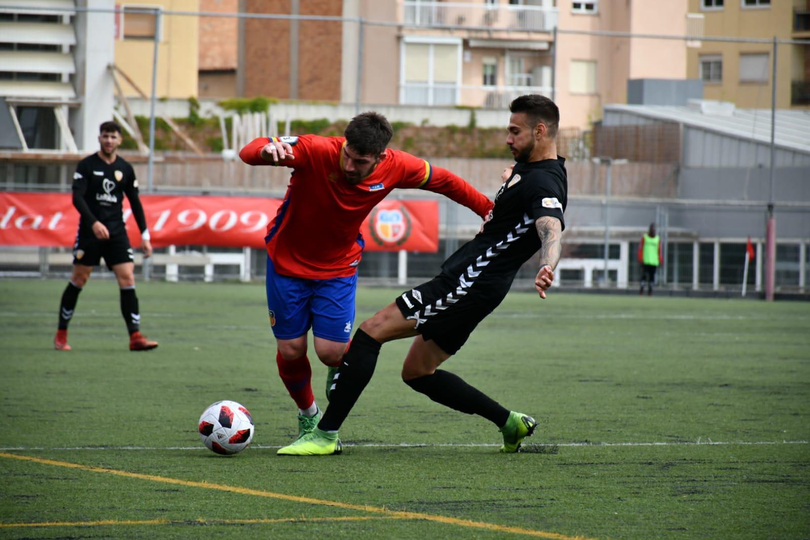 Empat a 2 entre el FC Martinenc i el CF Pobla de Mafumet