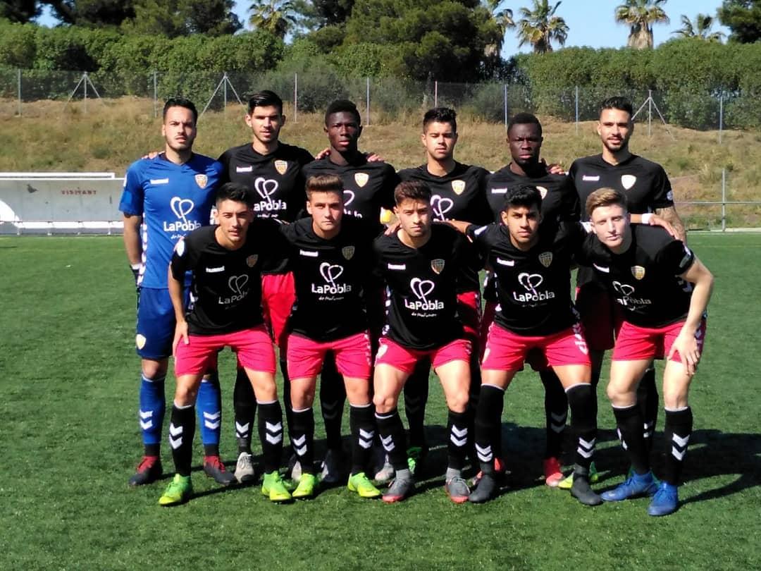 Empat a 0 entre el FC Santboià i el CF Pobla de Mafumet