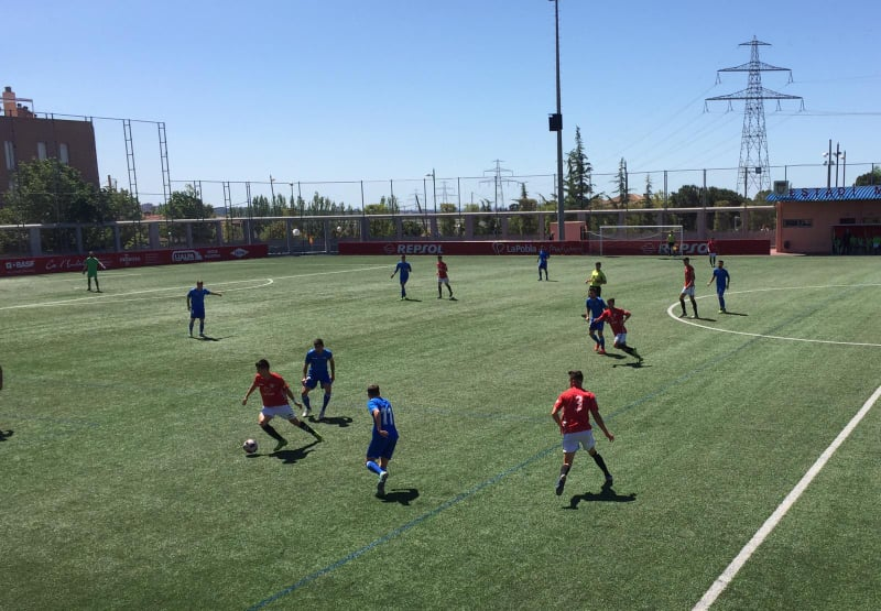 El CF Pobla de Mafumet perd el derbi contra el Reus B per 0 a 1
