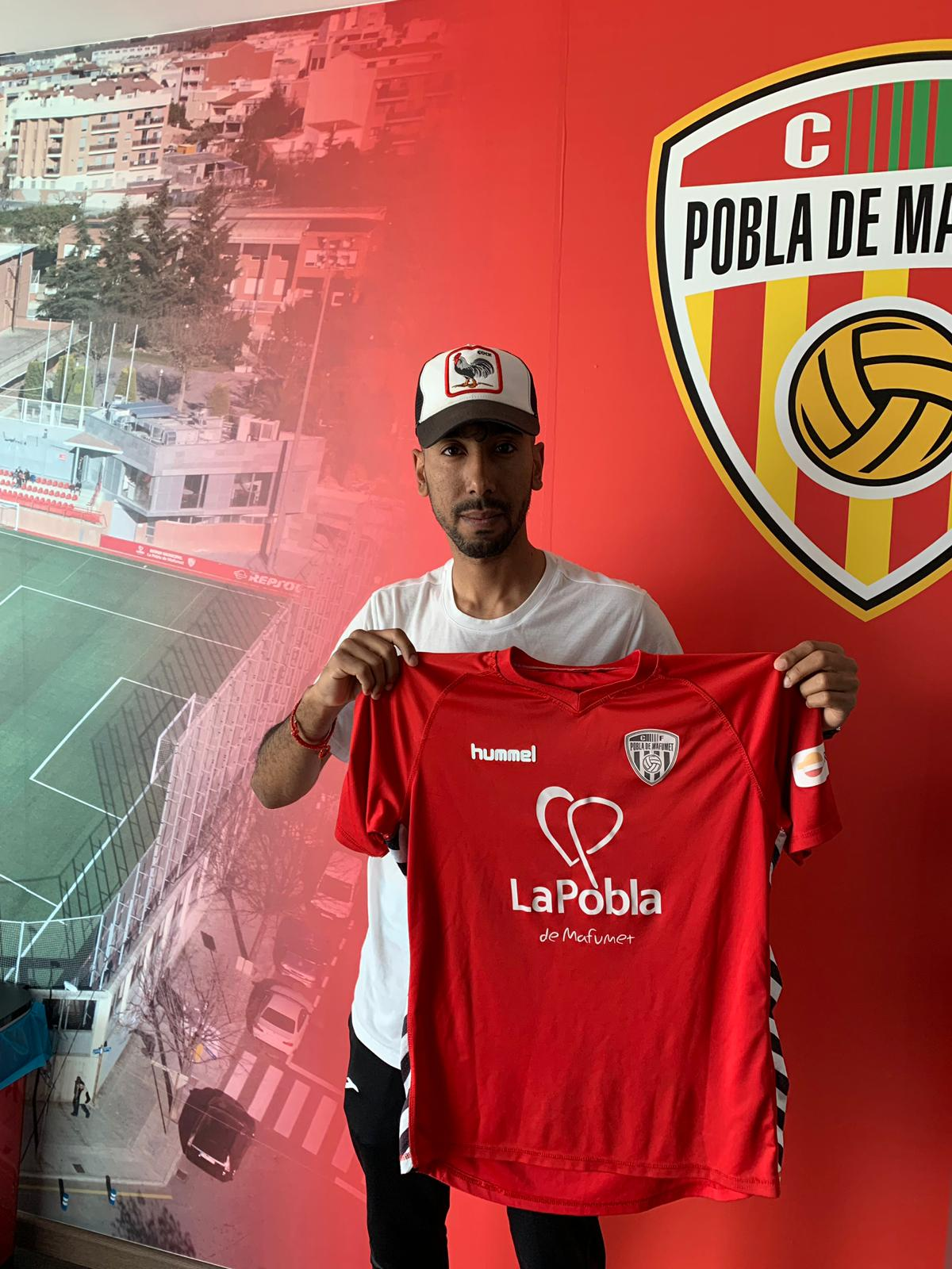 La Pobla B fitxa al davanter Mohamed Harouda