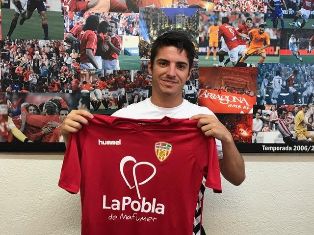 Aitor Serrano, nou jugador del CF Pobla de Mafumet