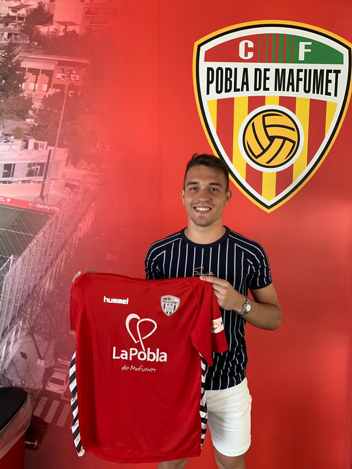 El porter Arnau Cardona, nou jugador de la Pobla B