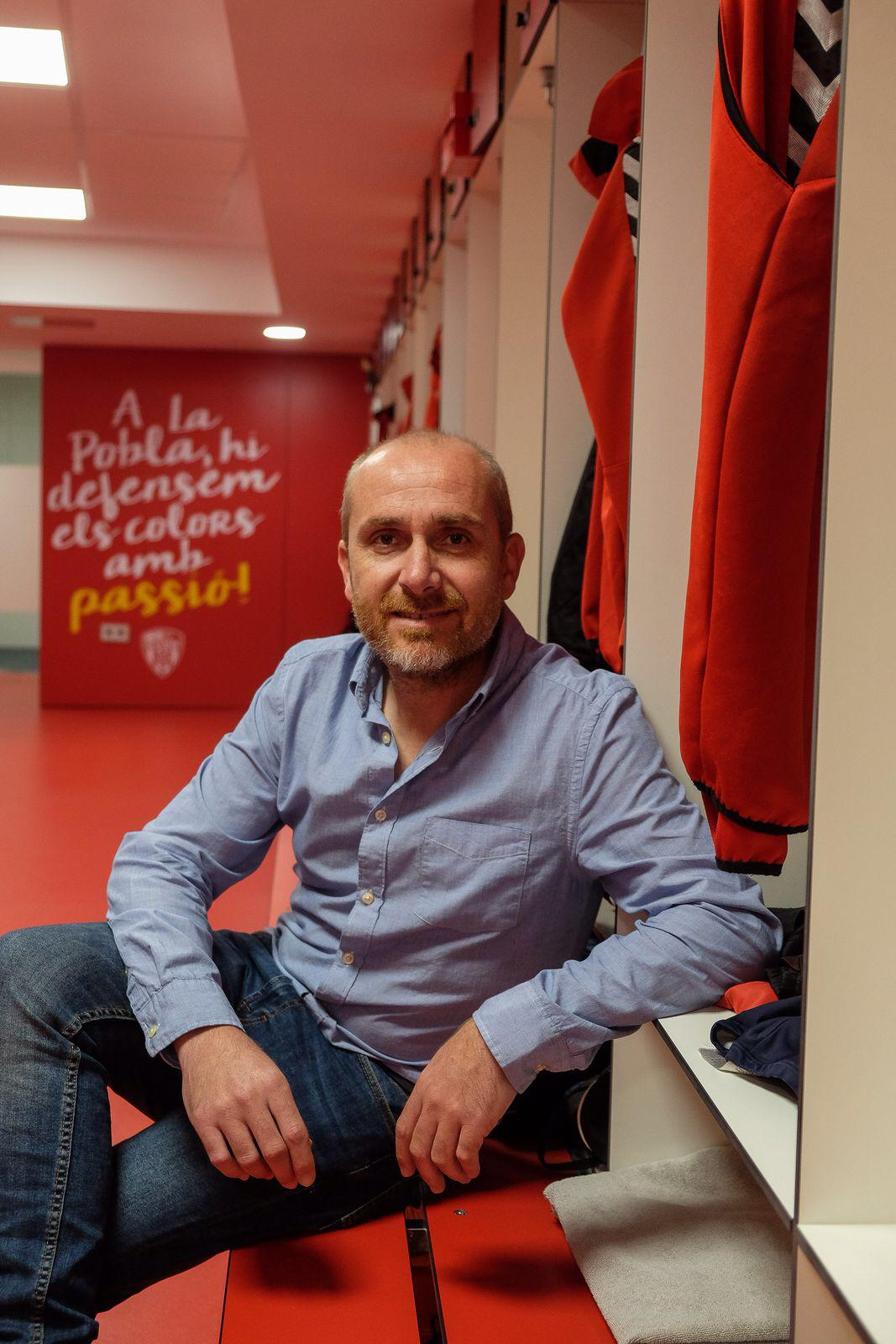 El president del CF Pobla de Mafumet, Ivan Carrasco, tanca una etapa de dos anys al capdavant del club