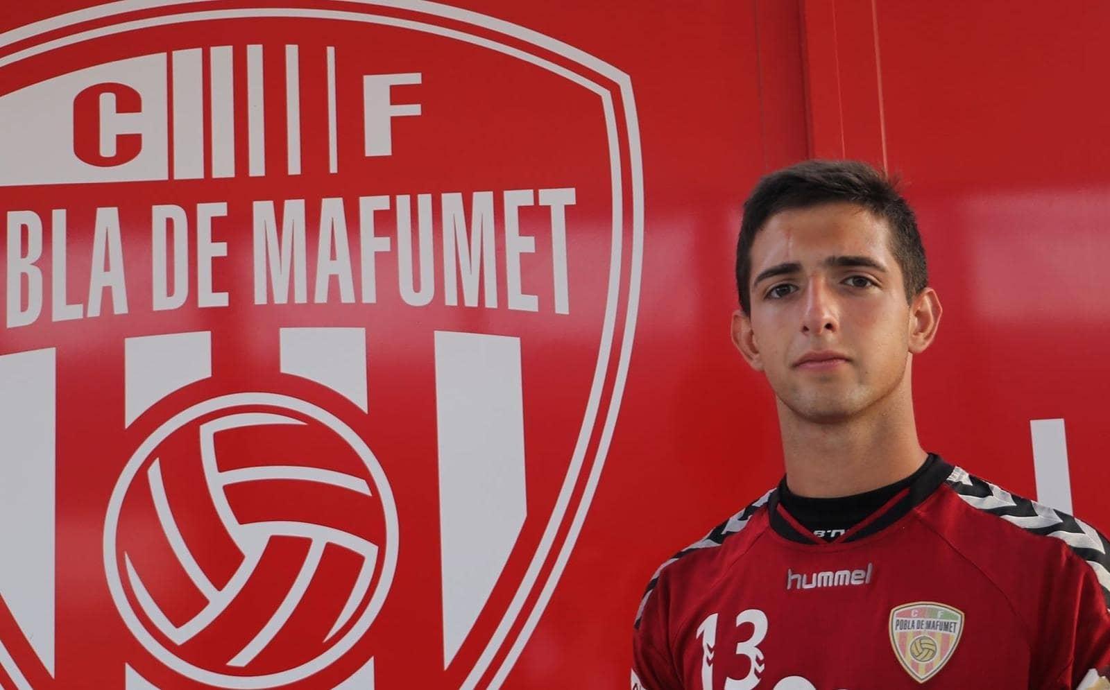 El porter Dani Parra, nou jugador del CF Pobla de Mafumet