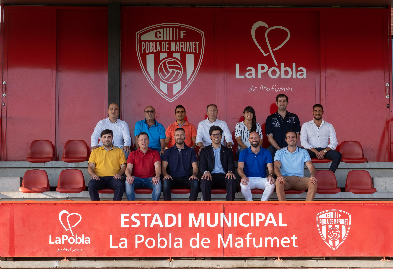 Alejo de Alfonso Mustienes, nou president del CF Pobla de Mafumet