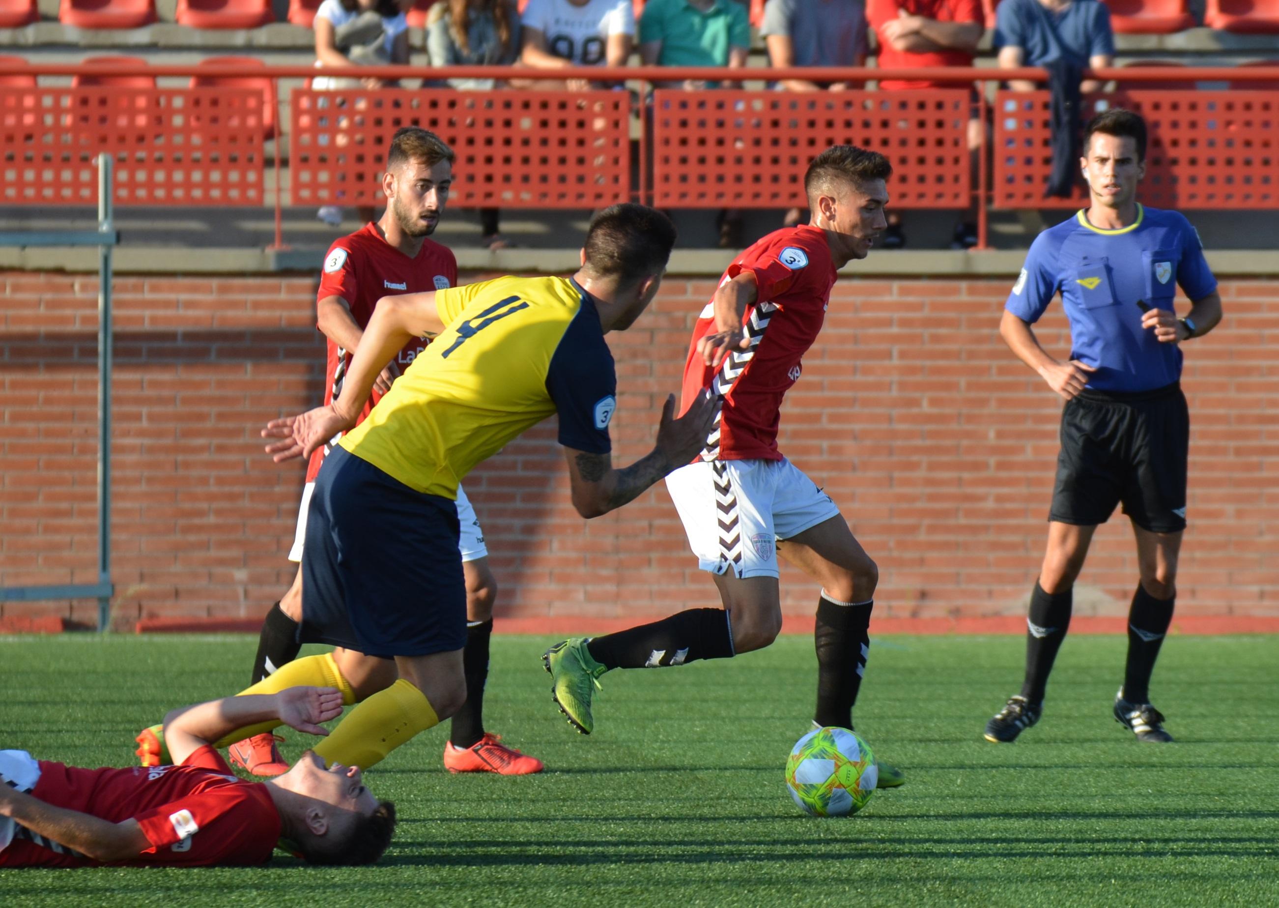 Victòria del CF Pobla de Mafumet davant la UE Castelldefels, per 1 a 0