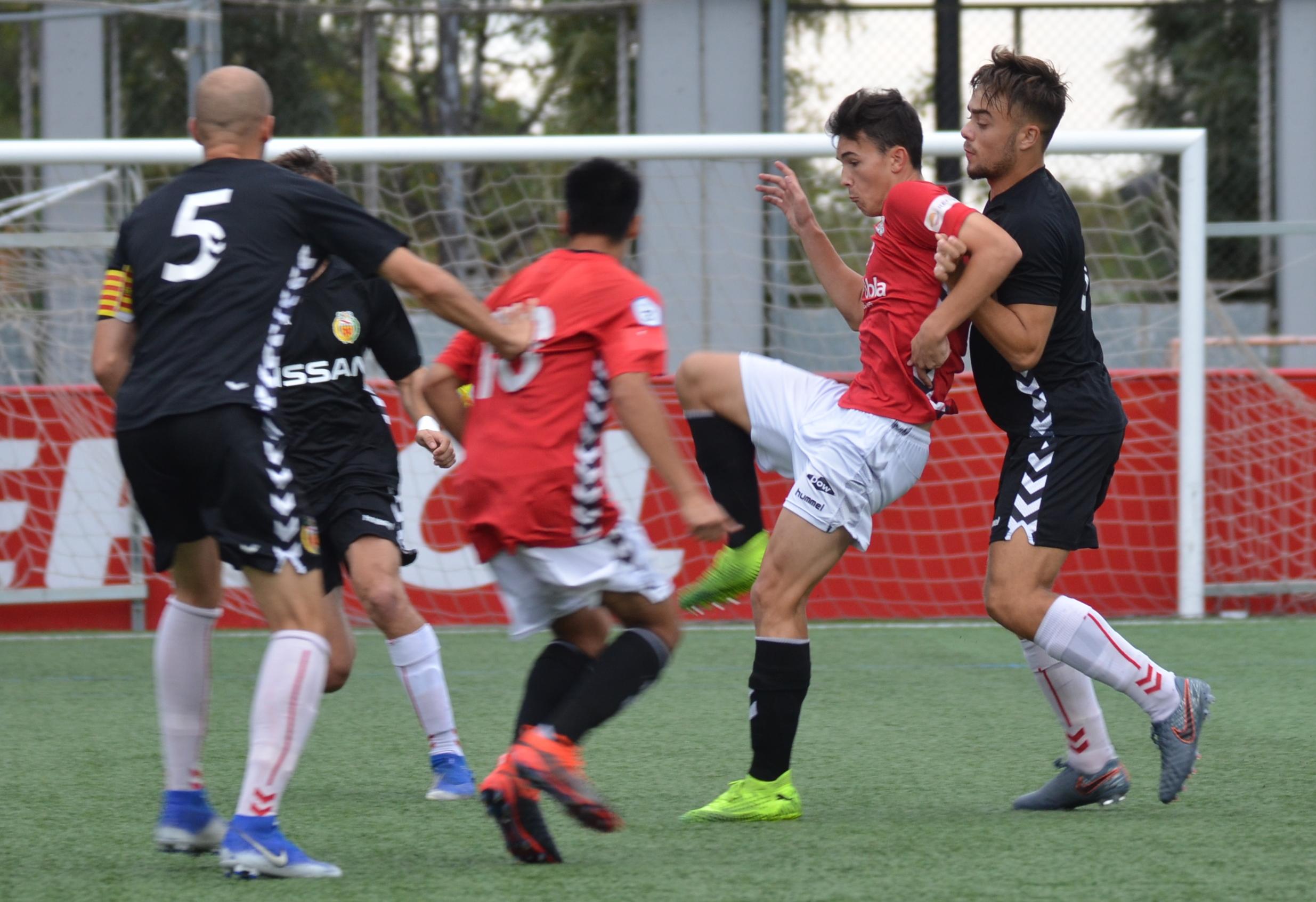 El CF Pobla de Mafumet guanya a l'Hospitalet per 1 a 0