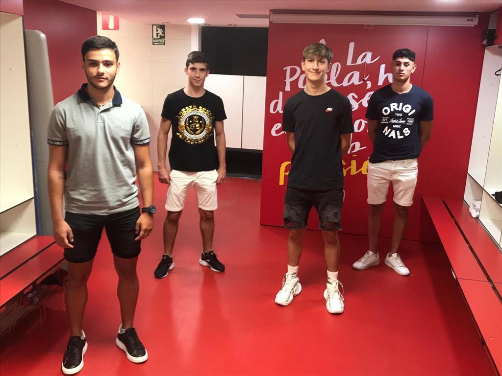 5 juvenils del Nàstic fan el salt a la plantilla de La Pobla 2020-2021