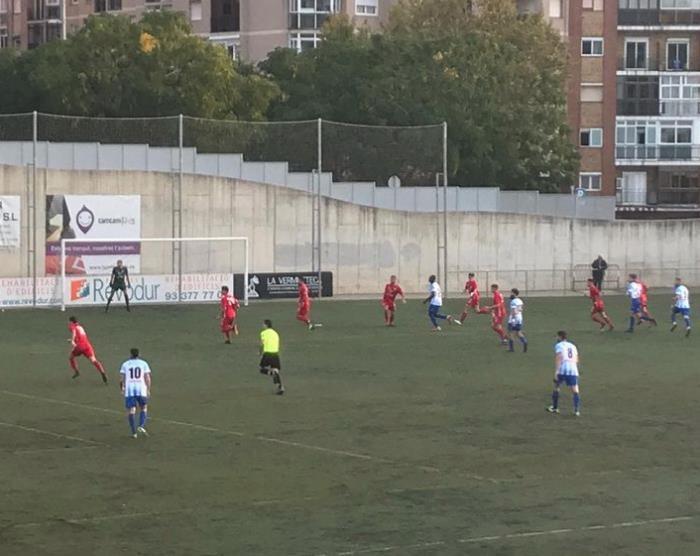 Derrota del CF Pobla de Mafumet davant el Santfeliuenc per 1 a 0