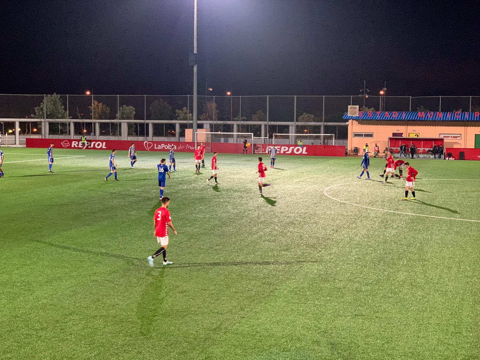 El CF Pobla de Mafumet guanya per 2 a 1 al CP San Cristóbal