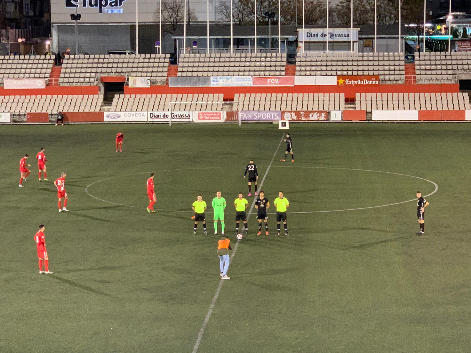 El CF Pobla de Mafumet perd 4-0 davant del Terrassa FC