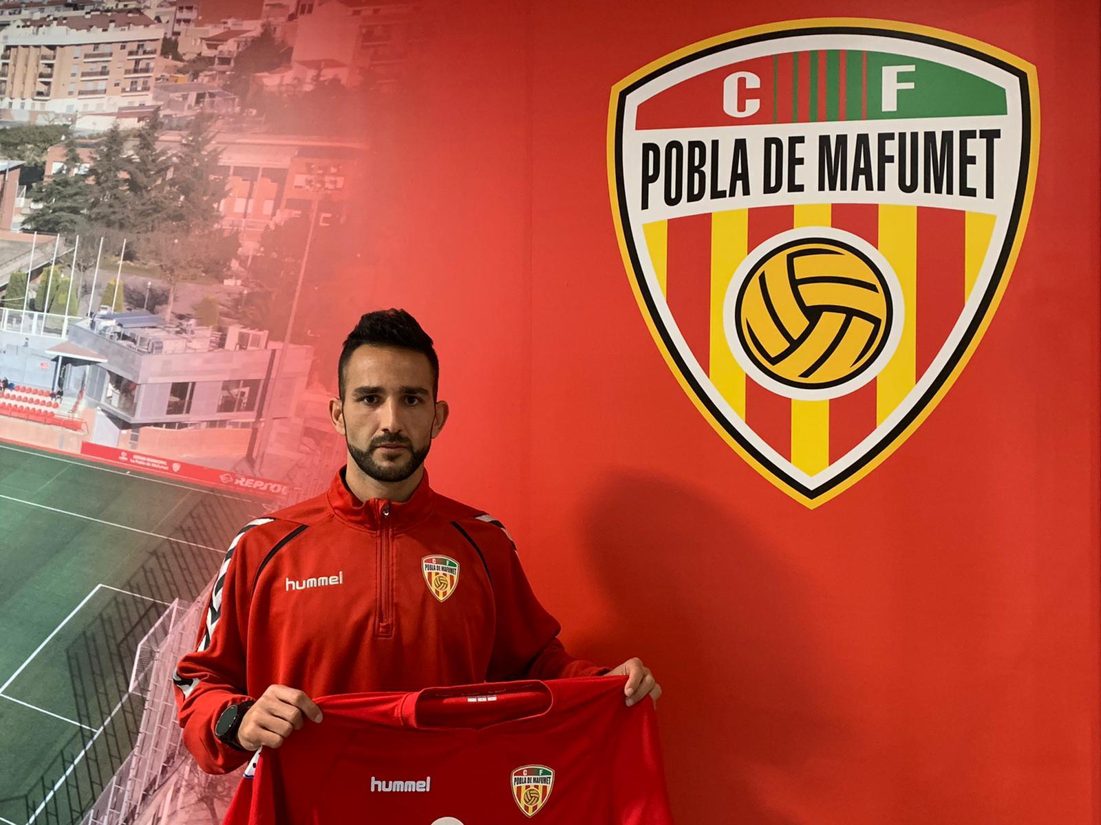 Dani Vidal, nou entrenador delCF Pobla de Mafumet