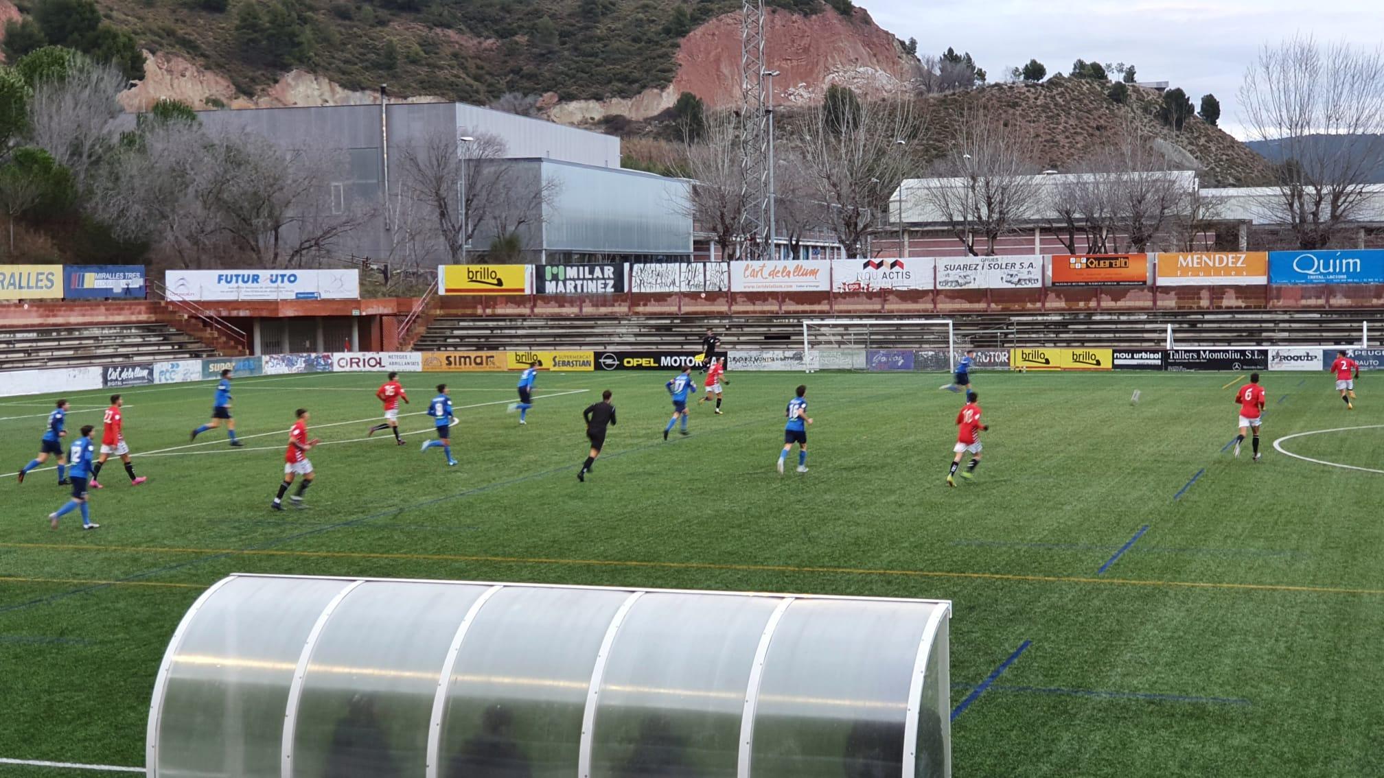 Victòria del CF Pobla de Mafumet davant el CF Igualada per 0-3