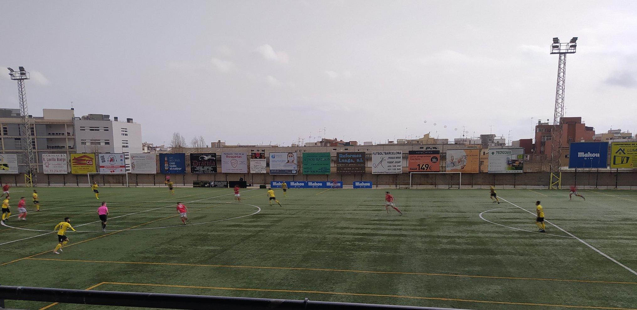 Victòria del CF Pobla de Mafumet davant el Muntanyesa per 0 a 1