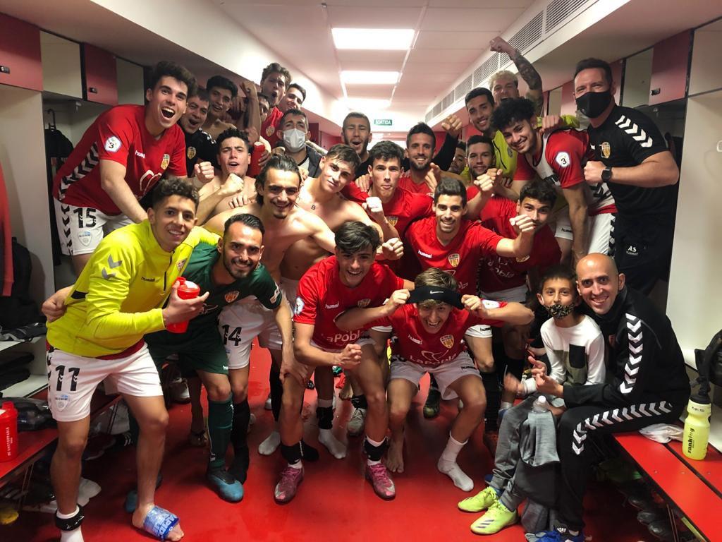 Victòria del CF Pobla de Mafumet davant la UE Figueres per 2 a 1