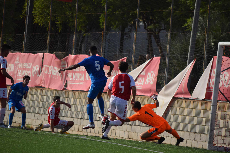 REAL MURCIA B 1 - 1 MAR MENOR FC.