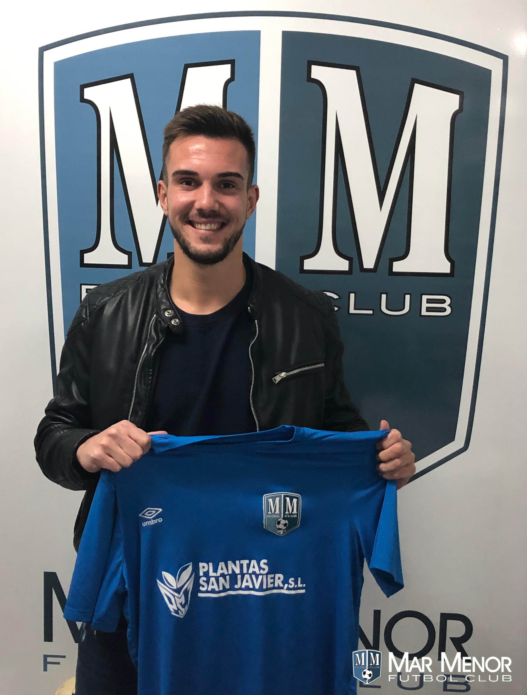 Miguel Ruiz se incorpora a la disciplina de Mar Menor FC.