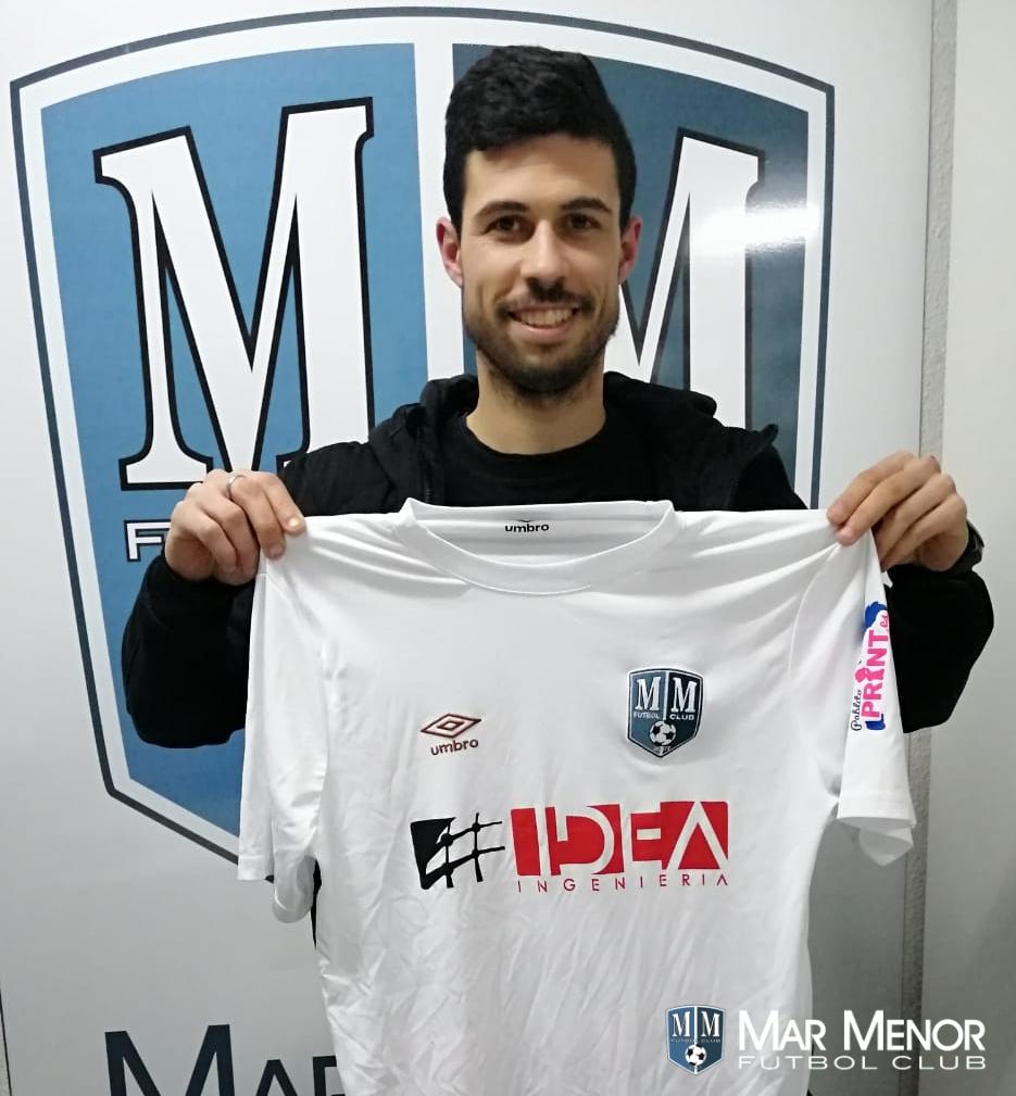 Toni Vela nuevo integrante de Mar Menor FC.