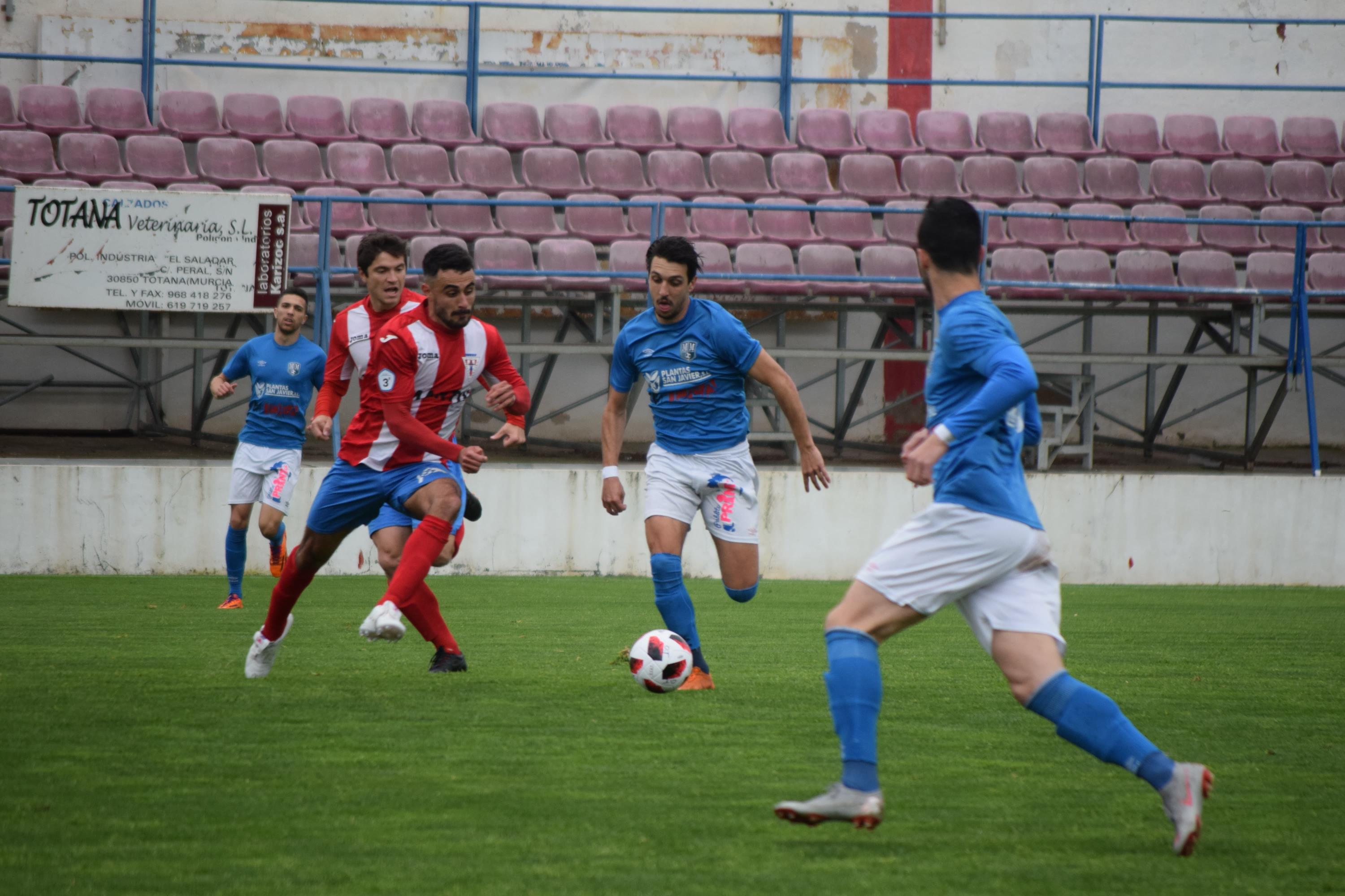 TOTANA 4-1 MAR MENOR FC.