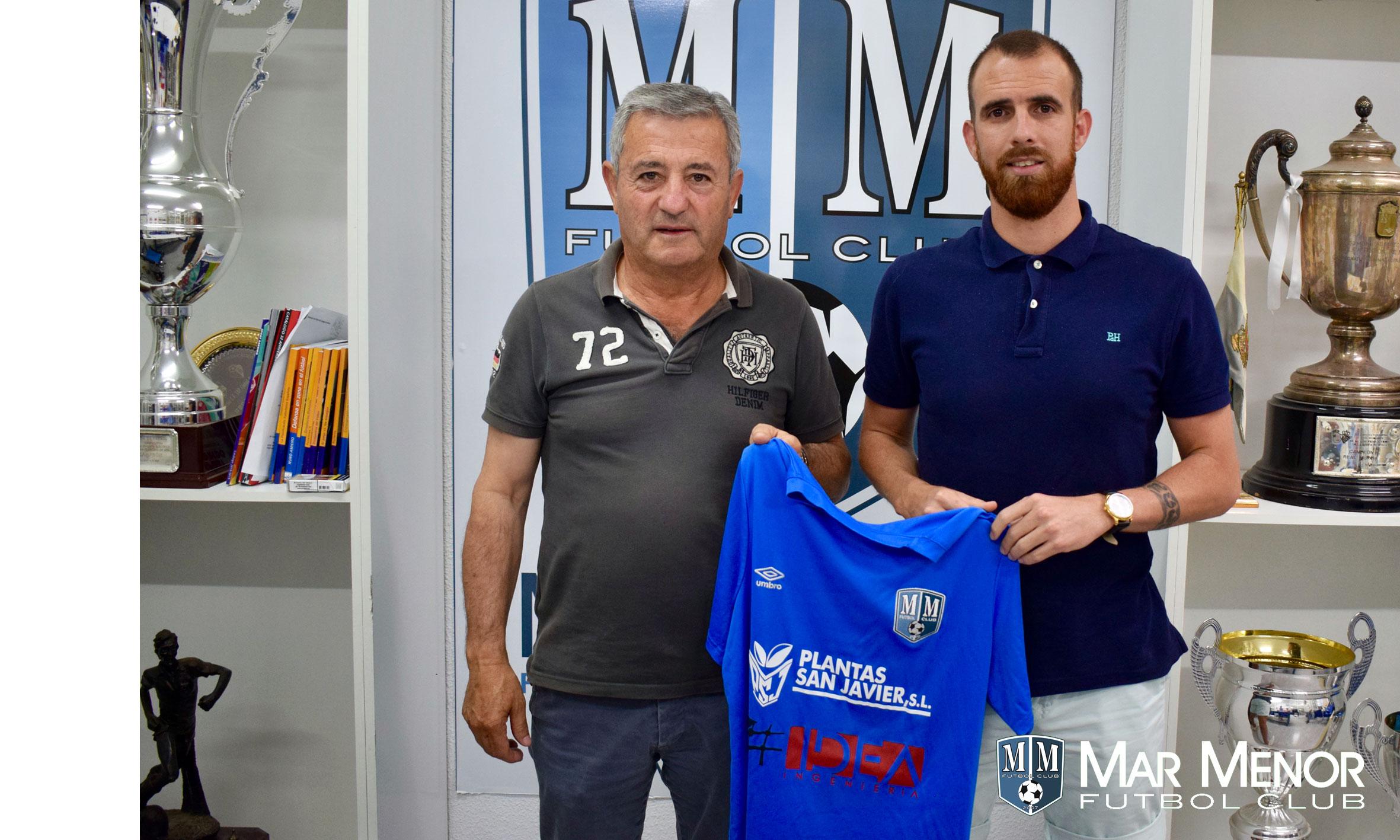 El lateral Iván Zaragoza se incorpora al Mar Menor FC.