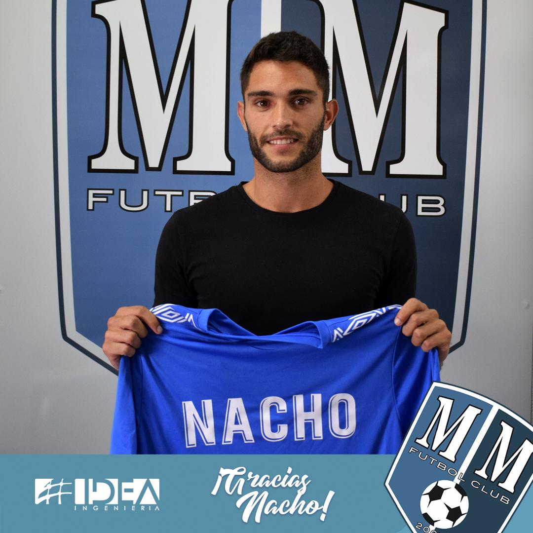 Nacho Lorenzo, velocidad y calidad para el Mar Menor FC.