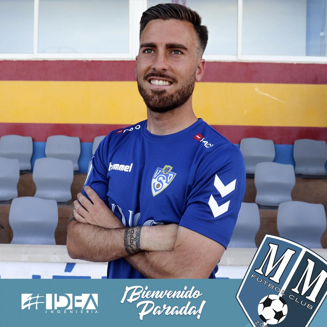 El mediocentro Parada se suma al Mar Menor FC 2019-20.