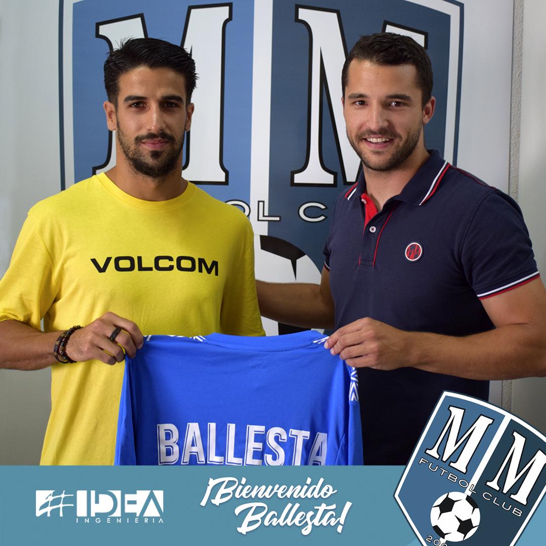 Ballesta, nuevo atacante del Mar Menor FC.