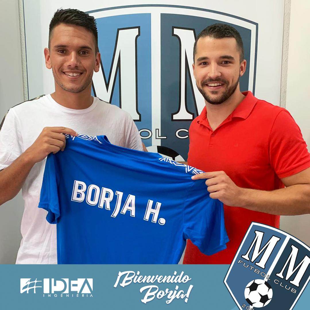 El Tinerfeño Borja Hernández llega al Mar Menor FC.