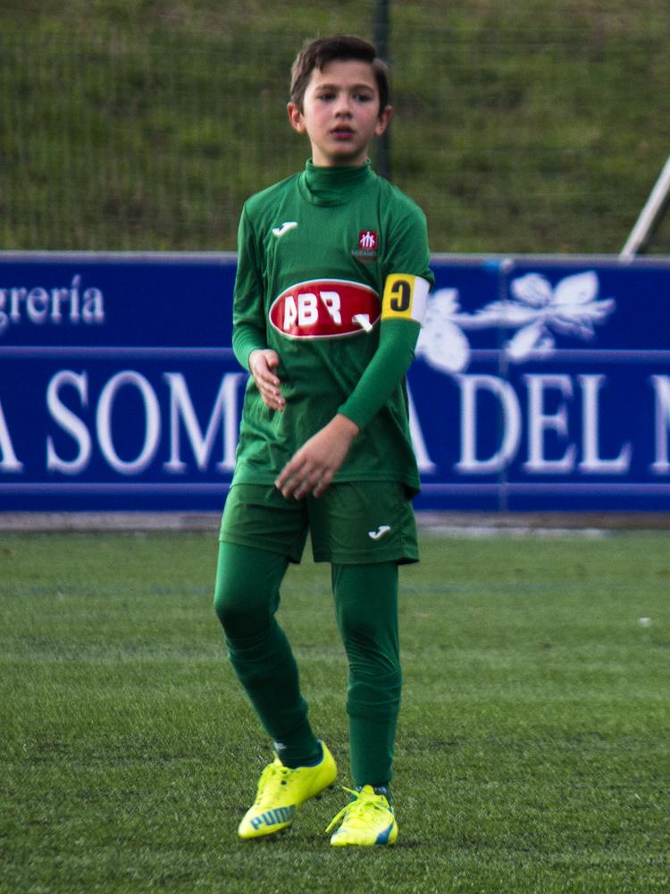 Álvaro Cal Agüera jugador del Alevín