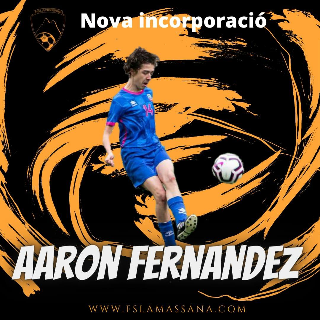 Aaron Fernandez NOVA INCORPORACIÓ
