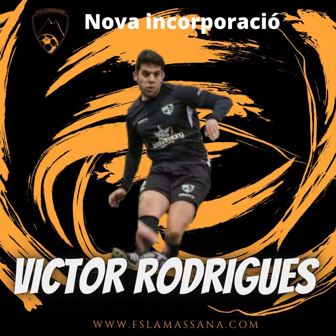 Víctor Rodrigues nova incorporació