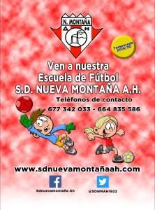 ESCUELA SD NUEVA MONTAÑA A.H  temporada 2019/20
