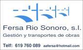 FERSA RIO SONORO, S.L.