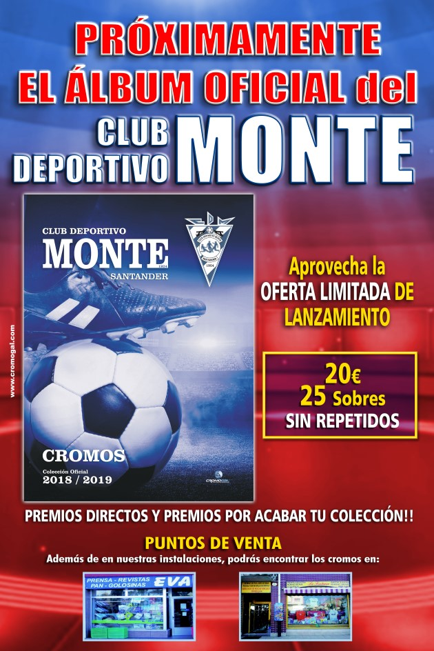Próximamente el álbum oficial del Club Deportivo Monte.