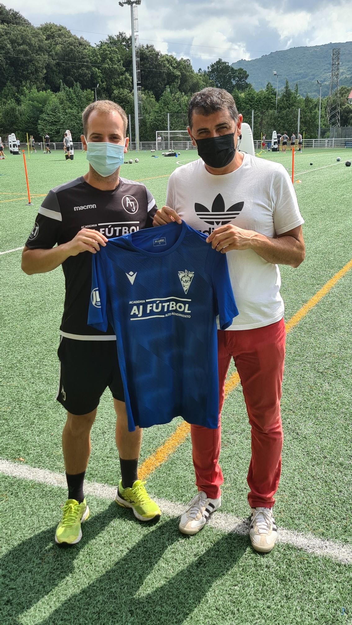 Nueva colaboración entre AJ Fútbol y el CD Monte