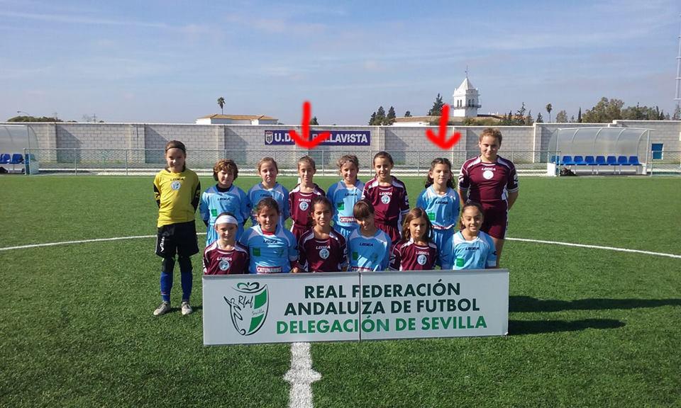 II Jornada de Fomento de Fútbol Femenino de la RFAF Sevilla en Bellavista