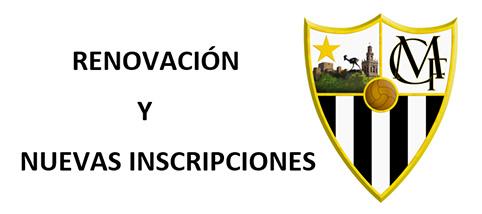 sdsPROCEDIMIENTO DE RENOVACIÓN Y NUEVA INSCRIPCIÓN EN EL  CF CIUDAD DE MORÓN TEMPORADA 2021/2022