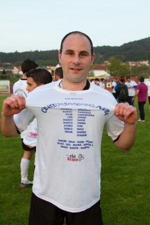 Chenel, máximo goleador del equipo