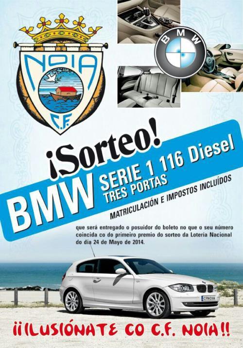 Sorteo del coche BMW