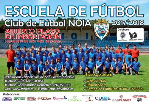 Abierta inscripción fútbol base temporada 2017/2018