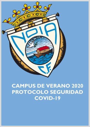 sdsPROTOCOLO DE SEGURIDAD FRENTE O COVID 19 CAMPUS DE VERAN 2020