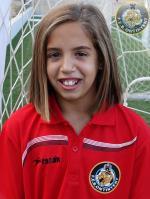 Laura Blasco amb la Sub-12 Valenciana