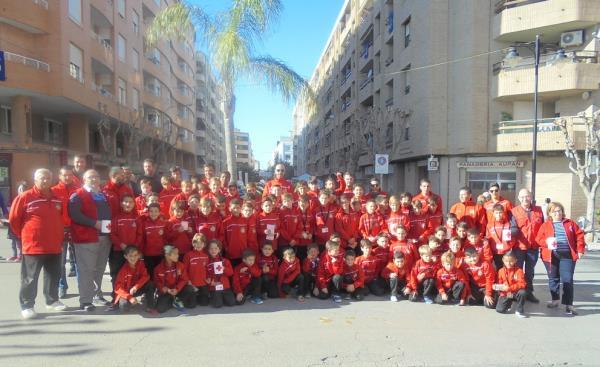 Entrenadors i jugadors de la FEBO, mostren la seua vessant més solidaria al