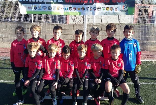 L'equip Prebenjamí A, participa al III Christmas Cup de Mislata