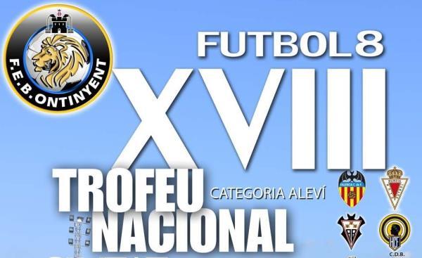 El XVIII Trofeu Nacional de futbol 8, a punt